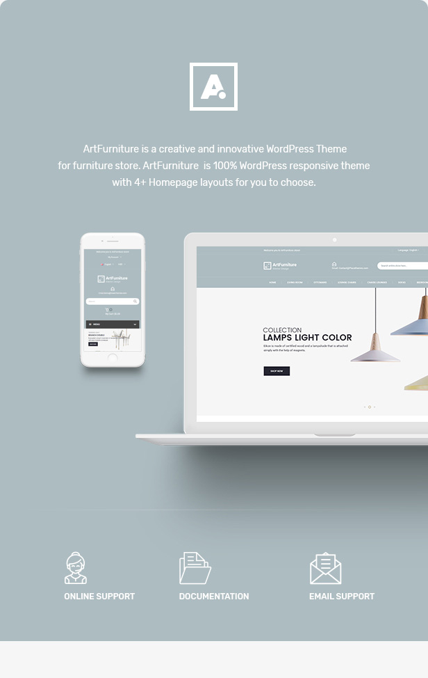Artfurniture – Furniture Theme for WooCommerce WordPress (WooCommerce) des 01